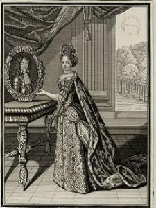 Madame la duchesse de Bourgogne © Bib. municipale de Versailles