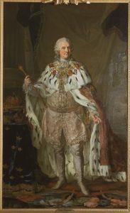 Lorens Pasch d.y. Tillskriven: Adolf Fredrik, 1710-1771, konung av Sverige hertig av Holstein-Gottorp. Grh 639